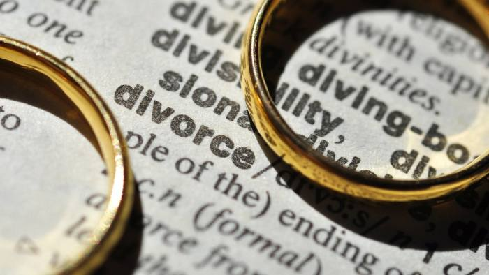 If you are subject to a divorce